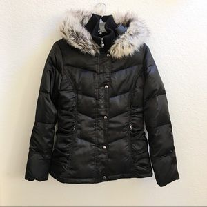 Guess Down Jacket Black NEVER WORN!